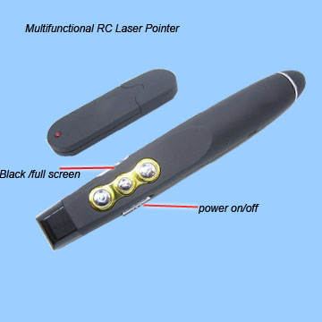 2.4GHz rf wireless laser presenter  RCRF-015