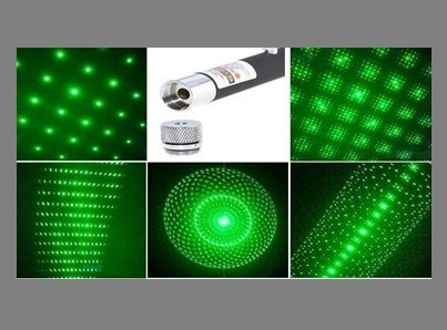 Twinkling Star Green laser pointer GLP-003