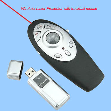 Multifunctional Wireless Mouse Presenter RCRF-006